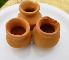 Indian mini Clay pots