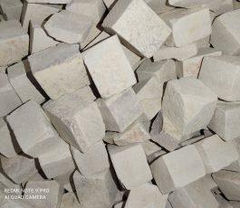 White Slate Cubes