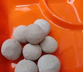White Candy balls