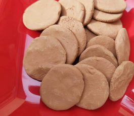 Sandy Tan biscuits